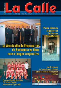 Revista la Calle Nº 3 Julio 2002